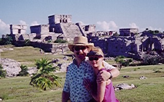 Dave and Colette at Tulum